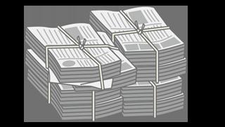 古紙回収サービス